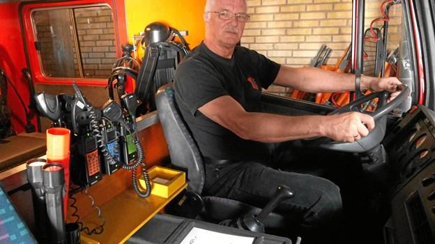 I 40 år har Allan Juul Jensen rykket ud som frivillig. Foto: Gunnar Onghamar