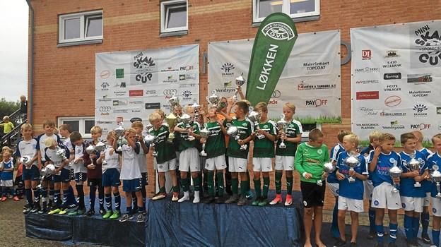 Disciplineret indsats, godt kammeratskab og kanon hårdt arbejde resulterede i en sejr ved Skaw Cup. Privatfoto