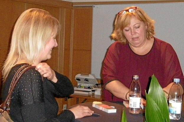Efter showet var der mulighed en en snak med Karen-Marie Lillelund
