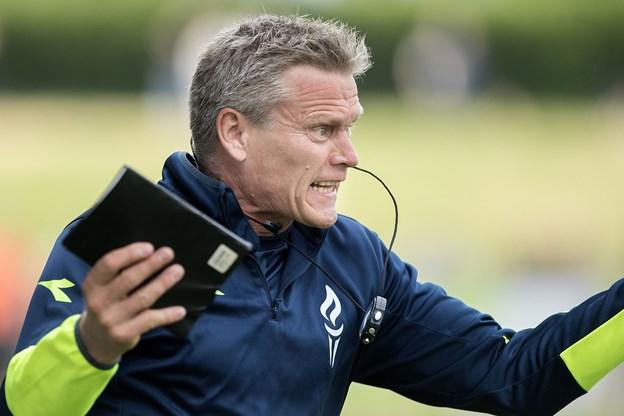 Mogens Krogh stopper som sportsdirektør i Vendsyssel FF.Arkivfoto: Lars Pauli