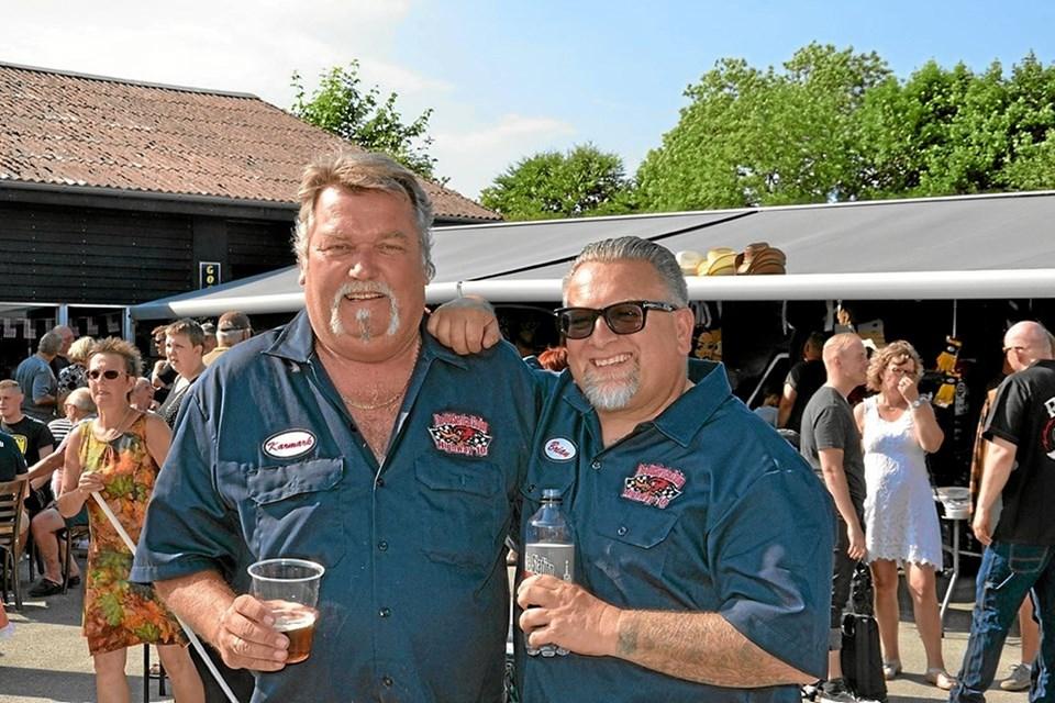 Per Karmark og Brian Grønhøj. Foto: Jesper Bøss Jesper Bøss