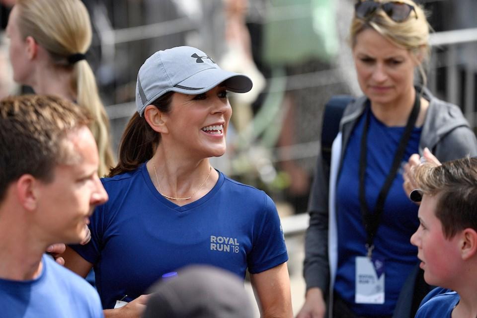 Nu er der ikke længe til, at kronprinsesse Mary kommer til Aalborg og løber med til årets Royal Run i byens gader. Foto: Lars Møller