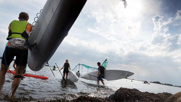 På Havnens Dag kan du blandt andet prøve Stand Up Paddling. Arkivfoto: Torben Hansen