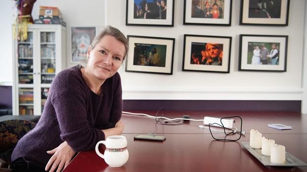 Pia Bredow holder af den hjemlige stemning på Det Hem'lige Teater. Foto: Hans Ravn.