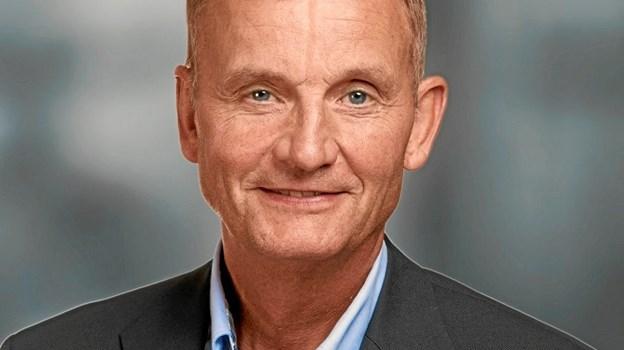 Mange af pengene går til mursten, siger formand for Idrætssamvirket Tommy Thomsen.
