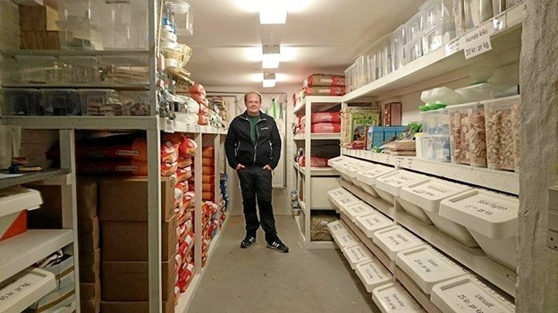 Alexander Nielsen har afhændet Sæby Frøhandel til Lisbeth Hansen i Mejling.