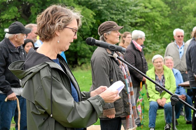 Lene Bornak holdt åbningstalen. Foto: Søren Borup Winther