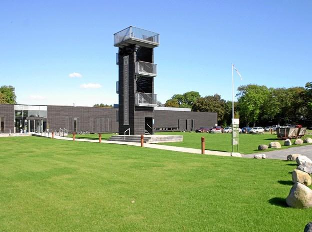 Du kan bestige Dødens Tårn i Vildmosecentret. Privatfoto