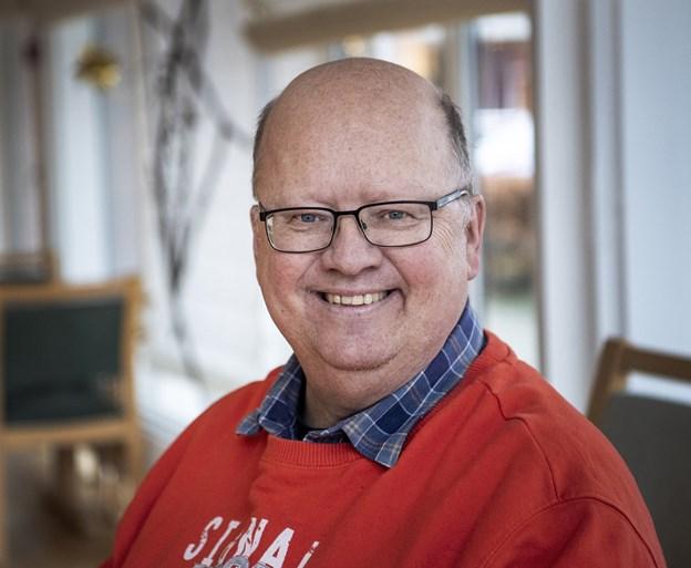 Ole Jespersgaard (S) springer 1. februar ud som galleriejer i eget hjem med en åben indvielse af Oles Galleri.Arkivfoto: Laura Guldhammer