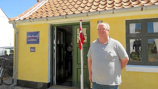 Den nye formand for Løkken Museum Søren Jensen. Foto: Kirsten Olsen
