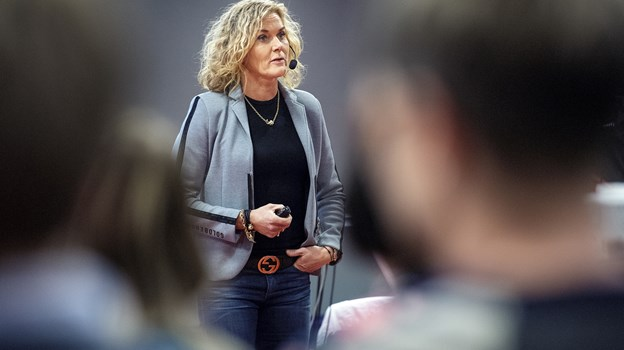 Charlotte Bøving kommer til Brønderslev. Arkivfoto: Lars Pauli