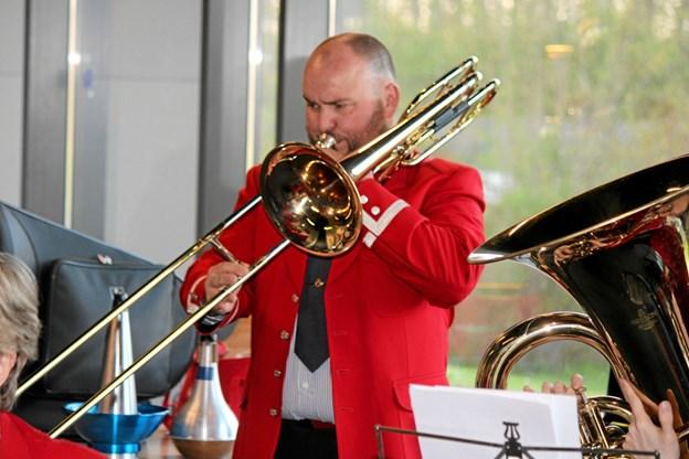 Der er mange instrumenter i brug. Flemming Dahl Jensen