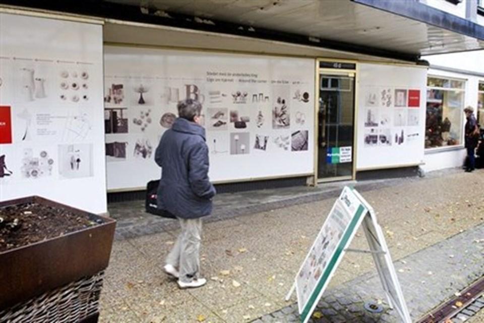 Kirkeby's tidligere lokaler i Danmarksgade ér lejet ud igen, og her åbner om kort tid endnu en tøjforretning.