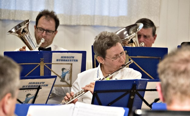 Jerslev Byorkester giver koncert 1. maj. Arkivfoto: Kurt Bering