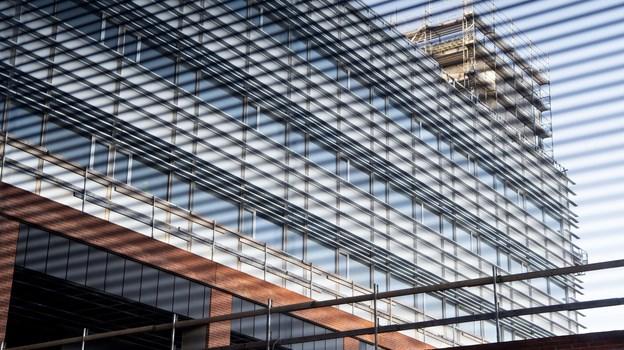 Du kan komme helt tæt på byggeriet, når der er Åbent Hospital. Arkivfoto: Henrik Bo