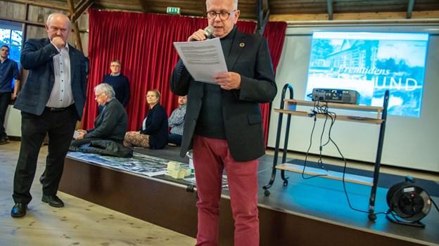 Formand for Borger9700, Jens Tofting. Foto: Martin Damgård Martin Damgård