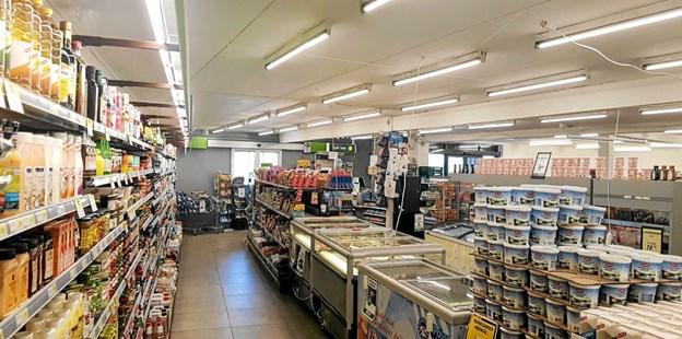 Når butikken genåbner 4. april vil alt inventaret være nyt og varernes placering og præsentation ændres. Foto: Karl Erik Hansen Karl Erik Hansen