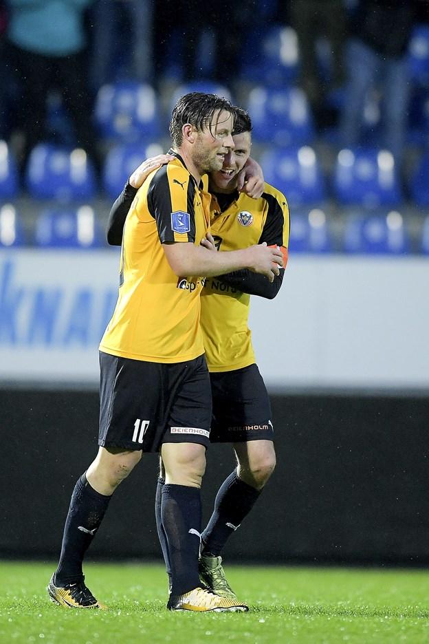 Foto Lars PauliHobro IK møder FC Helsingør i Alka Superligaens gruppespil.