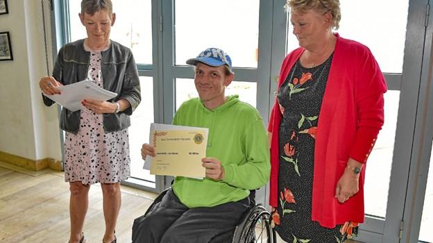 Værestedet Hanstholm modtog 10.000 kroner. Foto: Ole Iversen Ole Iversen