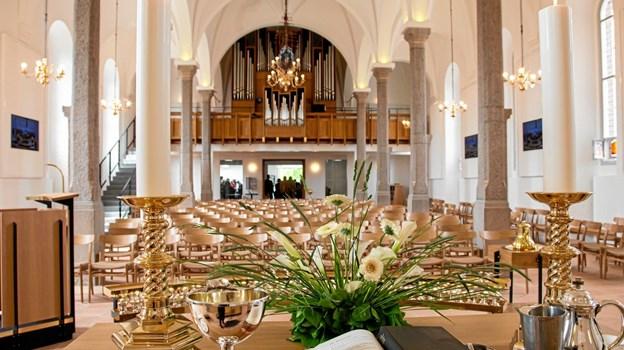 Genindvielse af Brønderslev Kirke. Foto: Nanna Højbjerg