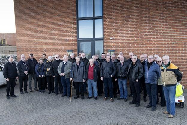Der blev udvekslet mange minder, da 39 tidligere værftsmedarbejdere mødtes på Ørodde i Nykøbing. Der var deltagelse fra Aalborg, Århus, Hanstholm, Glyngøre og Mors.