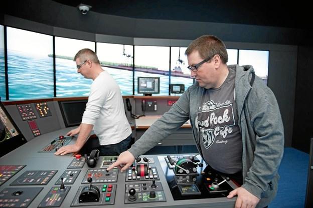 Erhvervslivet efterspørger arbejdskraft til Det Blå Danmark - og studerende hertil er Martec på jagt efter