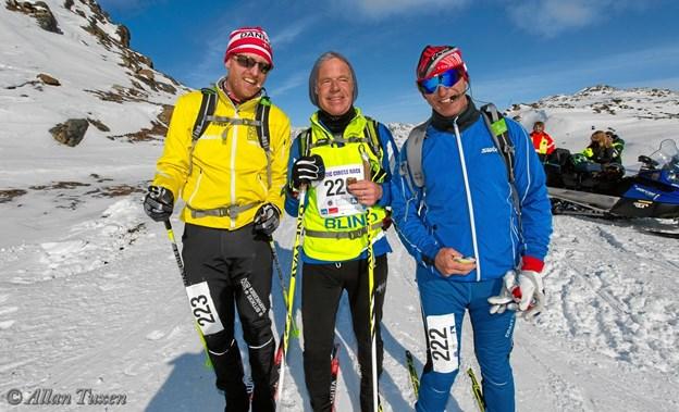 Fra venstre Henrik Seidelin Dam, Arne Christensen og Lars Røpke. Foto: Allan Tuxen