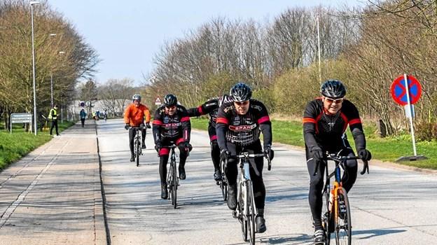 Cykelrytter er langt den største gruppe af motionister ved En Forårsdag.Jeanette Eggers Ole Iversen