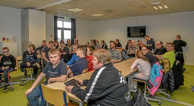 Stor tilslutning til Løgstør Sportsskytteklubs afslutning i Lanternen. Foto: Mogens Lynge