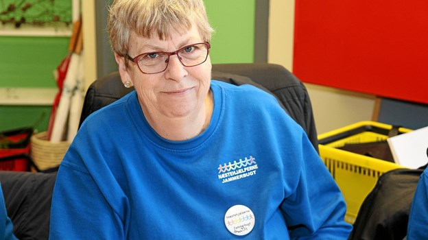 Ruth Andersen, talsmand for Næstehjælperne Jammerbugt, glæder sig over afklaringen på boligsituationen, som har været en anelse ustabil siden juni. Arkivfoto: Flemming Dahl Jensen