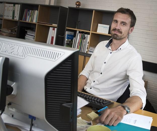 Erhvervschef Anders Stryhn vil fortsætte den gode udvikling for iværksættere i Jammerbugt Kommune. Arkivfoto: Laura Guldhammer Thomsen