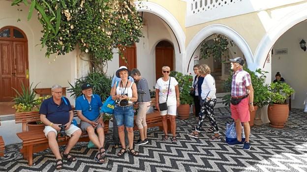 Næste tur går til Korfu, fastslår foreningens formand. Foto: Privat.