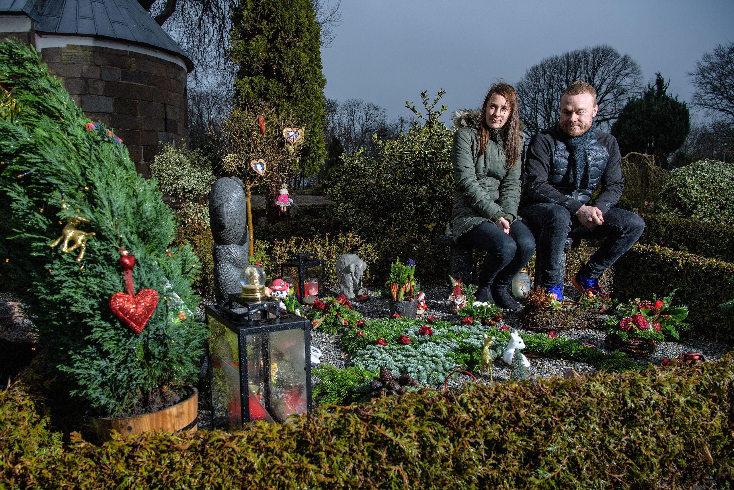 Lasse og Nicoline mistede deres toårige datter: Fandt hver deres måde at håndtere sorgen på