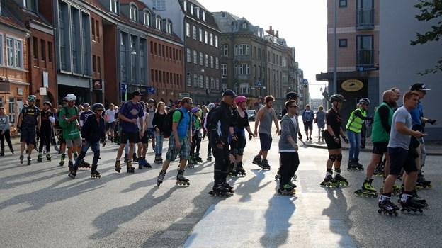 Så er det frem med rulleskøjterne - Friday Night Skate vender nu tilbage. Privatfoto
