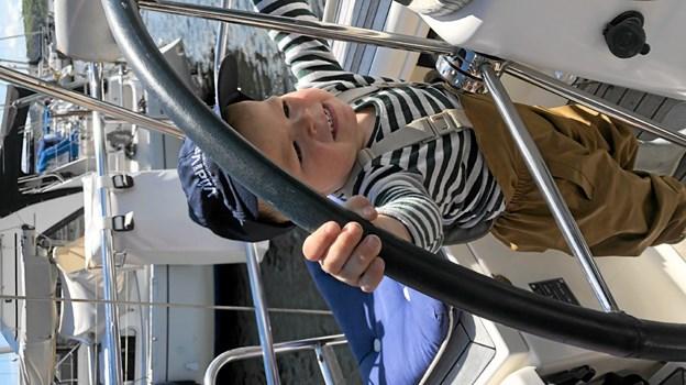 Alle aldre havde en god dag på vandet... Foto: Privat Privat