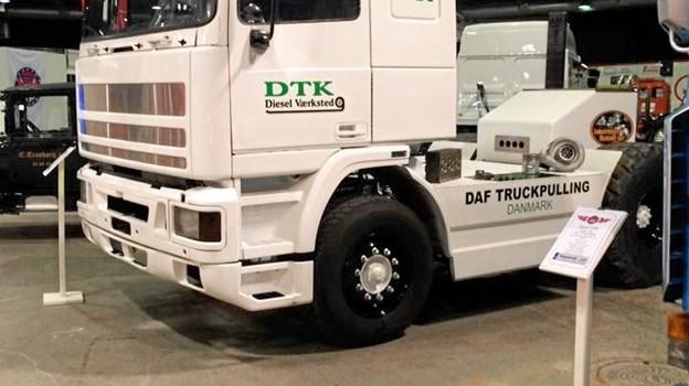 Det er ikke kun traktortræk den står på, der kommer hele 3 truckpullere Foto: DTK Diesel Værksted