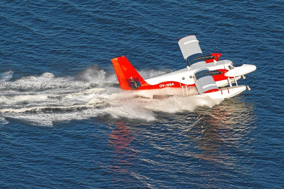 I  første omgang prøver Nordic Seaplanes ruten af i uge 29, Hellerupugen i Skagen. Thorbjorn Sund