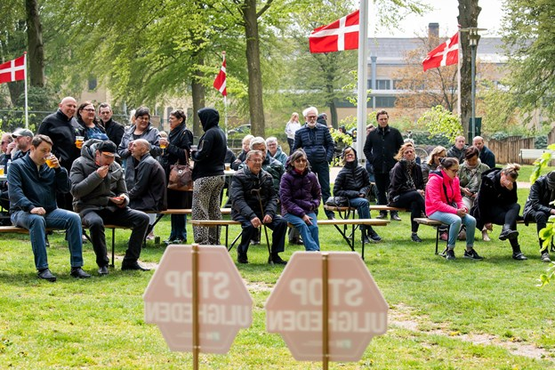 1. maj blev fejret i Hedelund. Foto: Henrik Bo