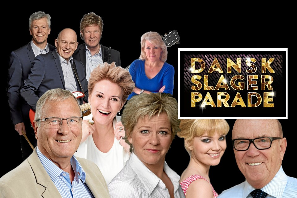Dansk Slager Parade runder Aabybro på fredag. Pressefoto