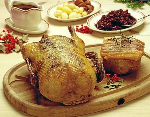 De fleste nordjyder stiller både flæskesteg og and på bordet, så alle kan stilles tilfreds.