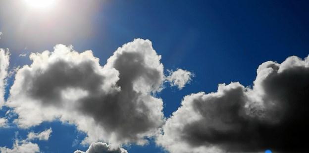 Smuk himmel over Brøndetslev. Foto: Jane Krogsgaard
