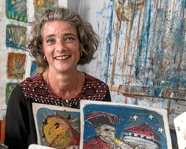 Torsdag 15. november runder Anne Marie Johansen de 50 år.Privatfoto: Carsten Thomasen