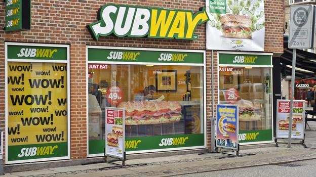Subway fejrer fødselsdag med billige sandwich. Arkivfoto: Martin Damgård