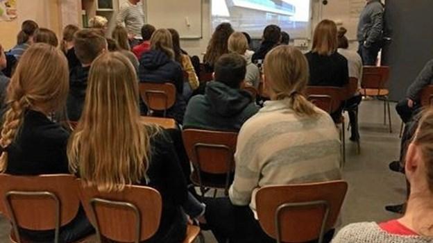 Martec i Frederikshavn var i Vester Hornum repræsenteret af hhv. en maskinmester og en styrmand. Privatfoto