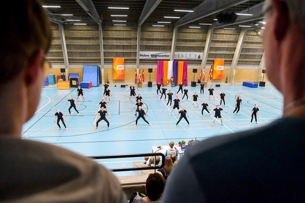 IK-Rosendal Gymnastiks Mix-hold var på gulvet lørdag middag Torben Hansen