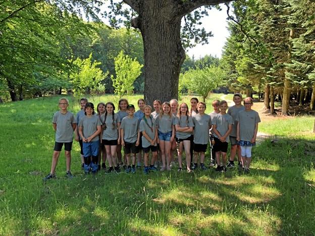 Junior Rangerne er mini naturvejledere og naturambassadører.