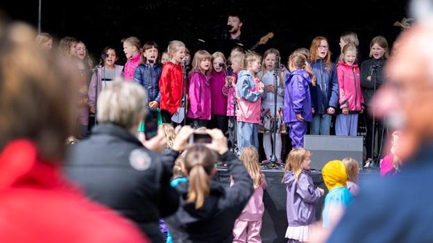 I år kunne Funky Festival fejre 10 år med fest for SFO-børn i Mariagerfjord. Alle SFO'er sørgede for et eller flere musikalske indslag.