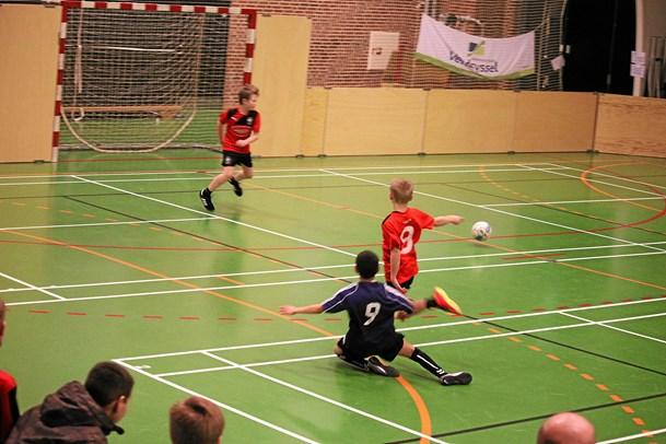 Indendørs fodbold og floorball i Vittrup