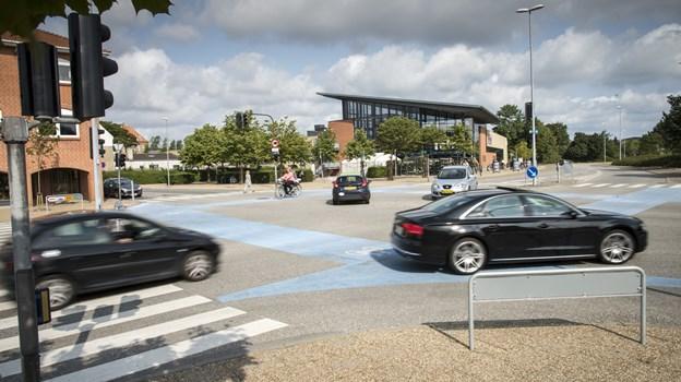 Frederikshavn Kommune scorede 83 ud af 100 mulige point for deres arbejde med færdselsundervisning, skolevejsanalyser og trafikpolitik på skolerne.Arkivfoto: Peter Broen
