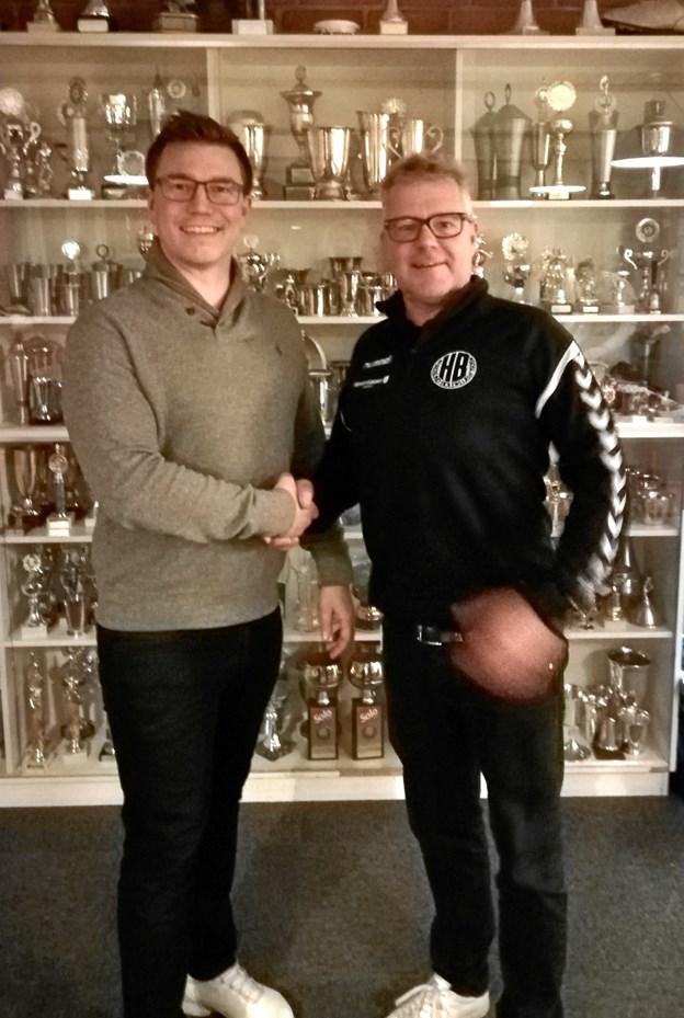 Jesper Smit afløser Søren Nielsen på posten som formand for HBF. Foto: Maria Friis